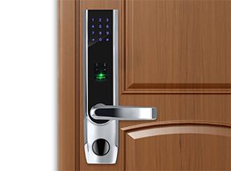 سیستم قفل های اثرانگشتی درب